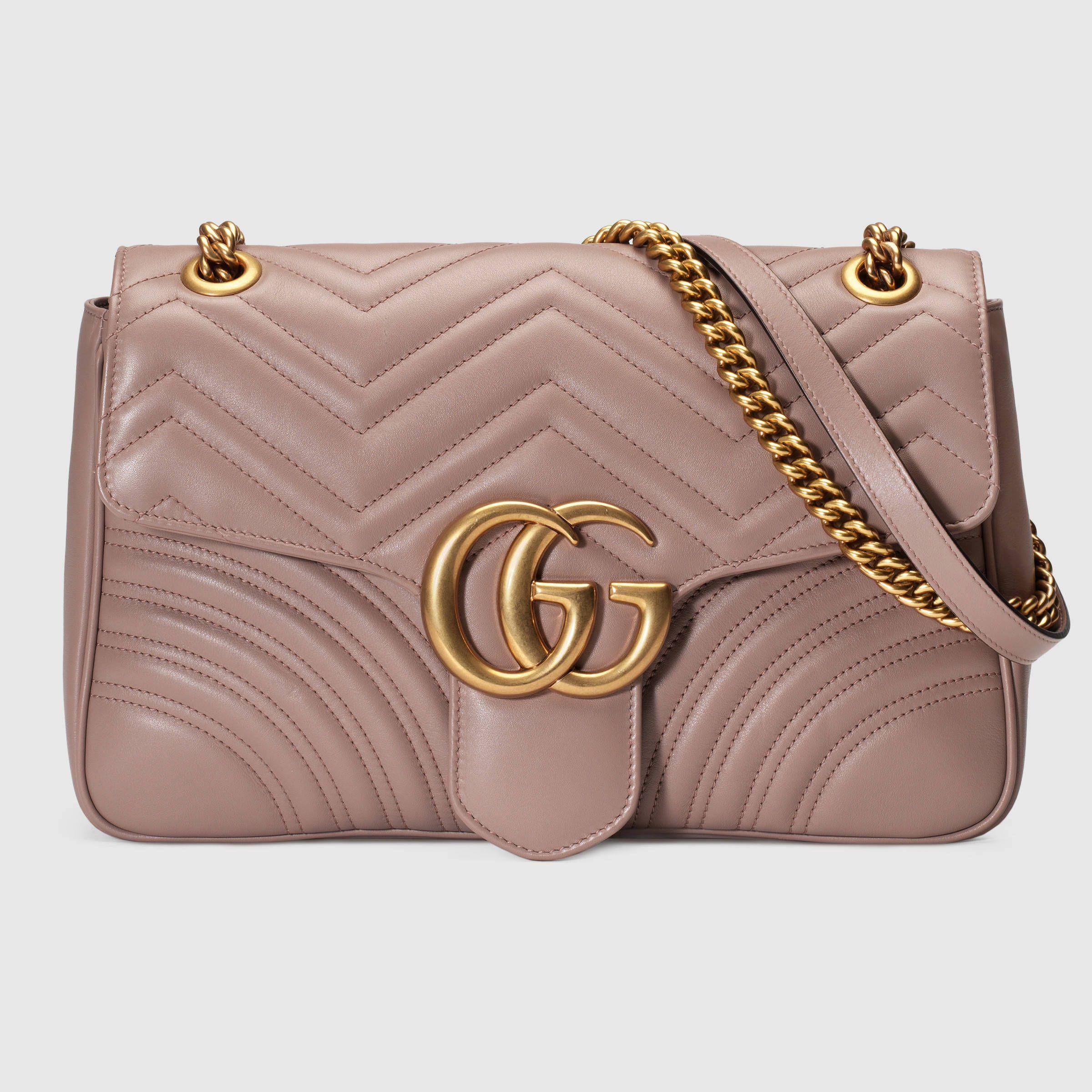 12edc9794134 GG Marmont medium matelassé shoulder bag | Wish List | Gucci ...
