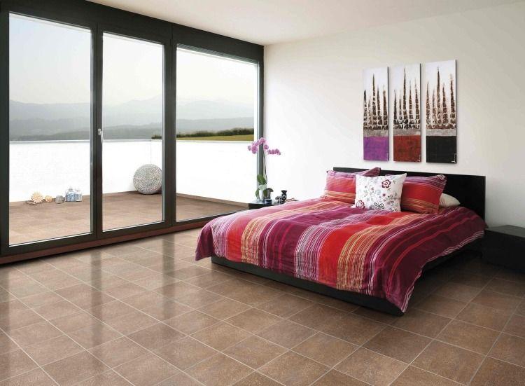 Feng shui chambre - 21 idées du0027aménagement réussi Feng shui - couleur chaude pour une chambre