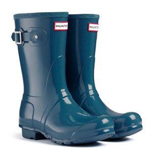 Hunter Original Gloss Short | Boots, Hunter boots, Rain boots