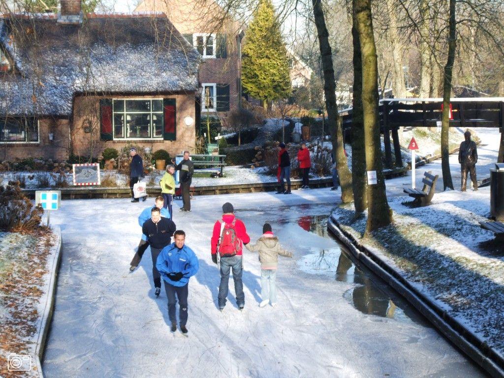 Giethoorn Holland I Wanna Holland Ice Skating Winter