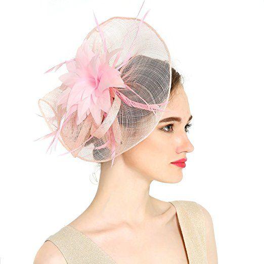 chapeau de c r monie el gant bibi chapeau de fleur mariage accessoires cheveux pour femme. Black Bedroom Furniture Sets. Home Design Ideas
