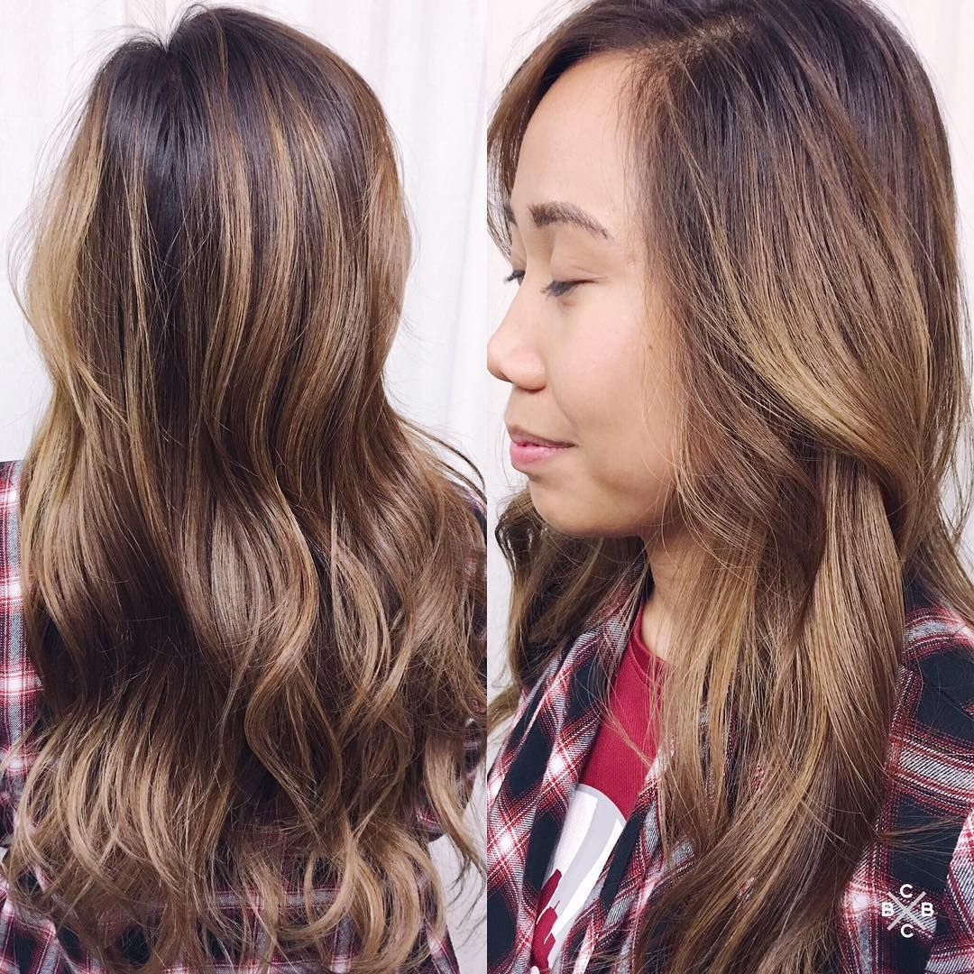 Long And Luscious Hand Painted Mermaid Waves Dallas Hairpainting
