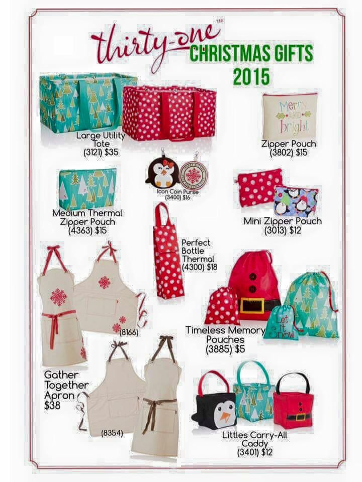 Thirty One Christmas Products Www Mythirtyone Com Cburkhard
