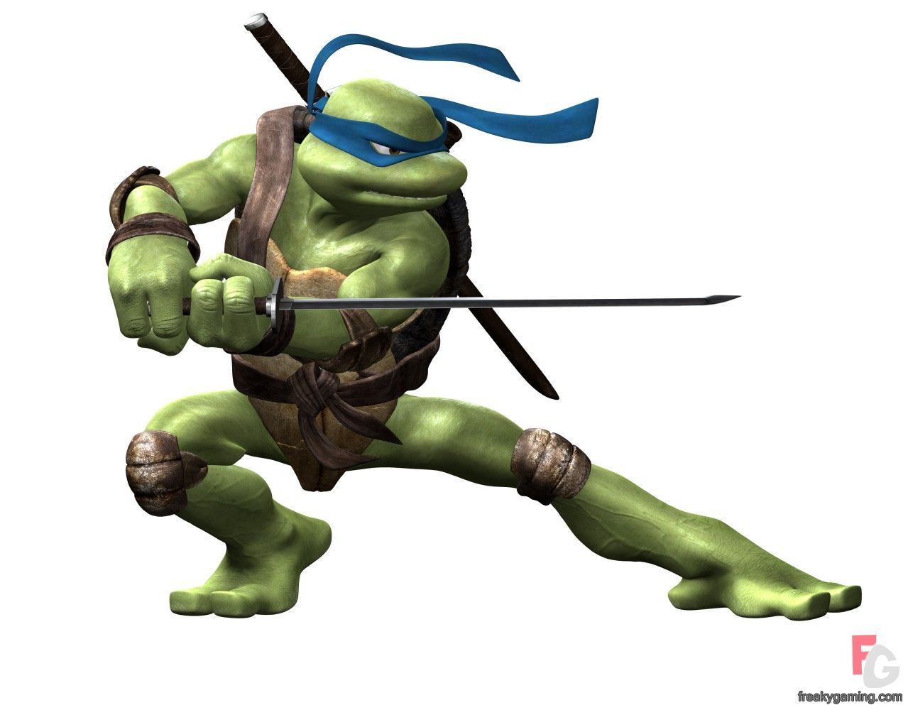 Tmnt Leonardo Sword Pose Art Gallery At Freakygaming Leonardo Tmnt Tmnt Tmnt 2012