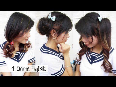 Youtube Hair Styles Anime Hair Pigtails