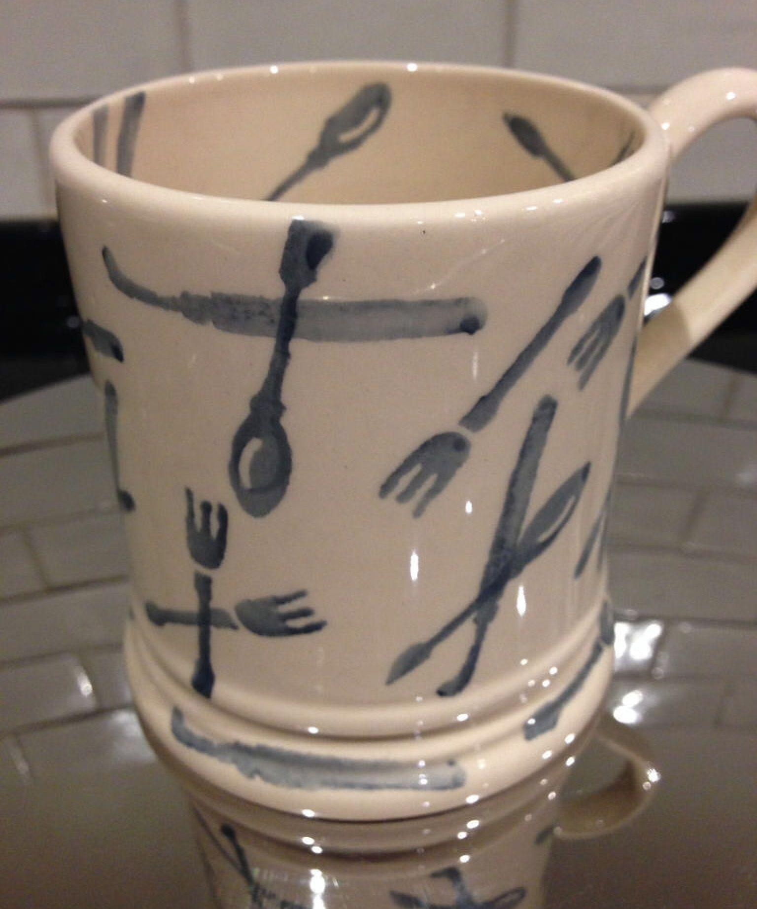 Emma Bridgewater Conran Utensils 0.5 Pint Mug