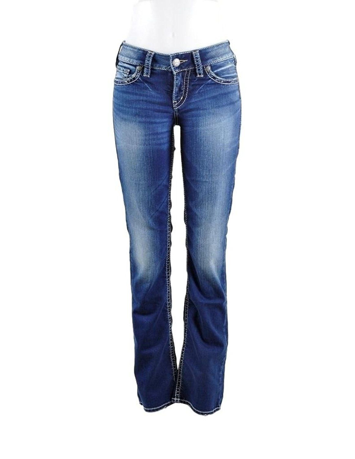 Suki Is Rise Bootcut Jean An Women's This Silver Mid Jeans Slim 7Ygb6fy