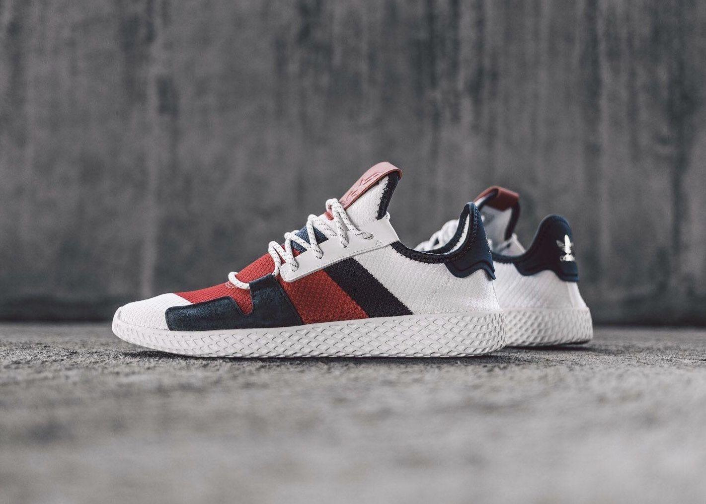 cheap for discount 864f6 73d5e Pharrell x adidas Originals Tennis Hu   Fodtøjet   Sneakers, Shoes ...