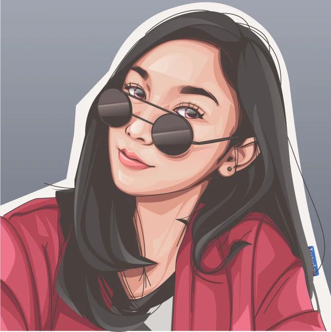 Hendraprh I Will Draw You In My Realistic Cartoon Style For 10 On Fiverr Com Seni Jalanan 3d Gambar Teman Ilustrasi Karakter