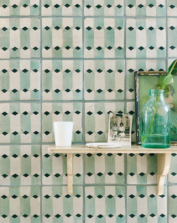 Fired Earth   Patterned floor tiles, Kitchen floor tile ...
