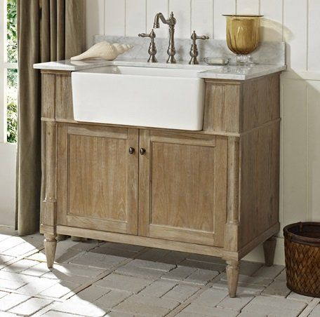 Fairmont Designs FV Rustic Chic Inch Farmhouse Vanity In - 36 inch rustic bathroom vanity