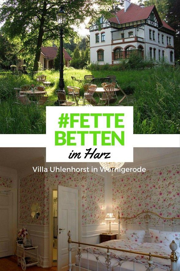Die Villa Uhlenhorst In Wernigerode Geschichte Zum Erleben Hotel Wernigerode Villa Wernigerode