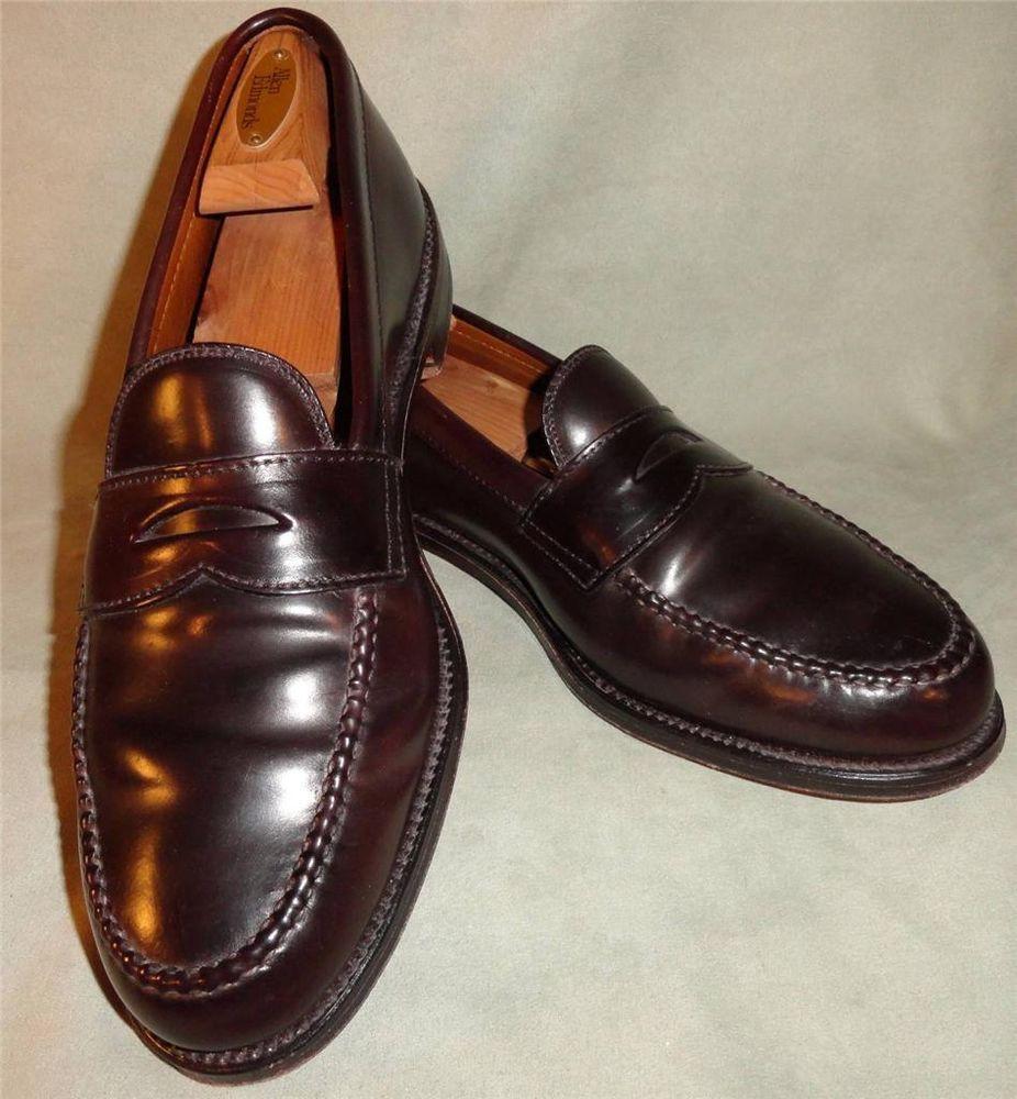 Men's Size 11 Alden Cordovan Leisure Handsewn Moccasin ...