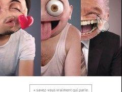 Campagne de sensibilisation Internet détourne des Smileys