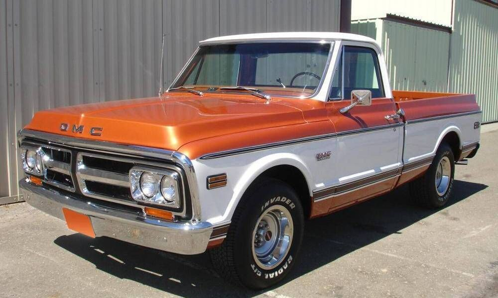 1972 Gmc Not Quite The Same One The Guy Who Drives The One I