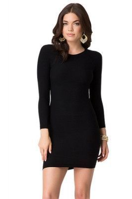 womens dresses  chicra  black bodycon dress long