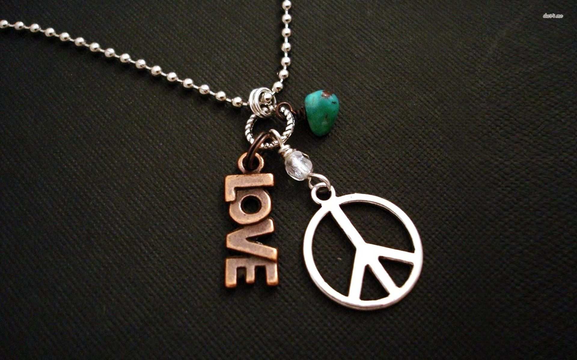 Love And Peace Hd Wallpaper Hippie Necklace Peace And Love Shop Earrings