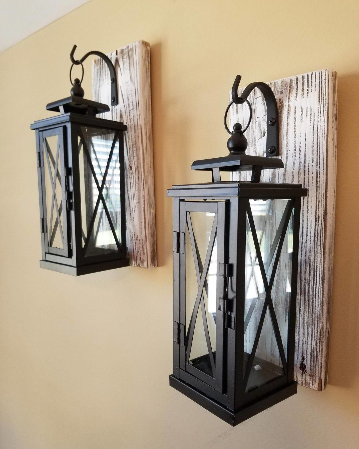 Diy Home Decor Really Resourceful Summary 7065083821 A Glamorous Home Styling Tactic And Examples F Farmhouse Wall Sconces Wall Mount Lantern Wooden Sconces