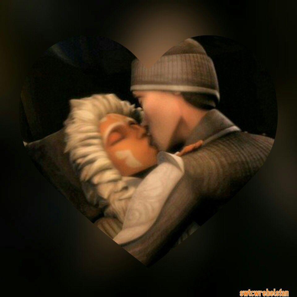 Luxsoka Kiss I Ship Them Swtcw Ahsokatano