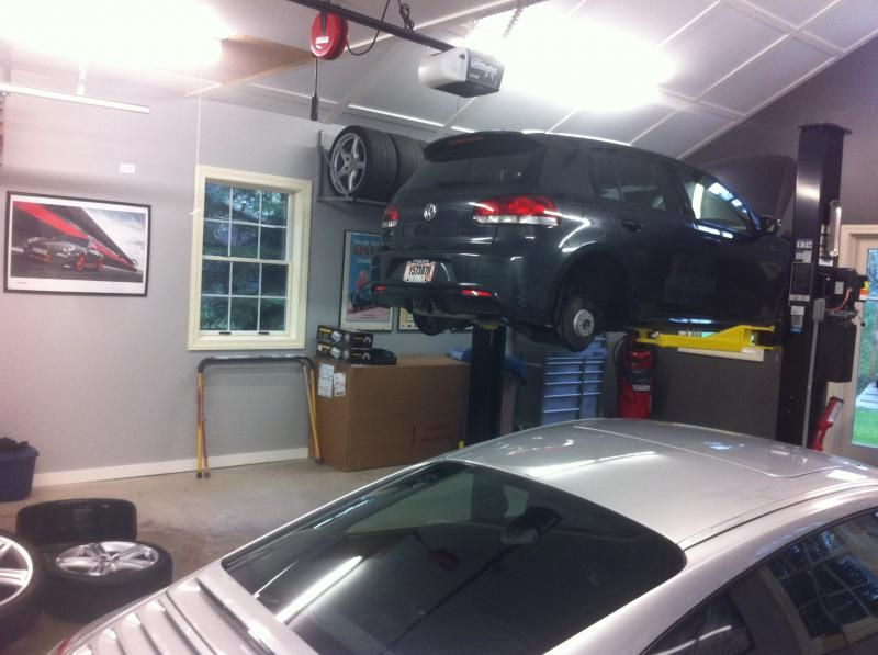how to build a garage webpage