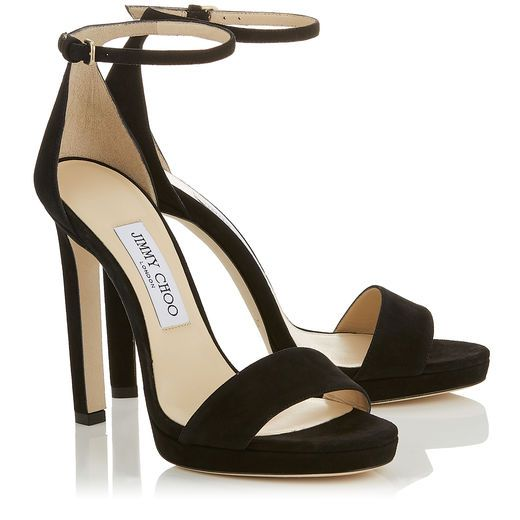 Jimmy Choo Misty 120 leather sandals from china free shipping M6gUSNK