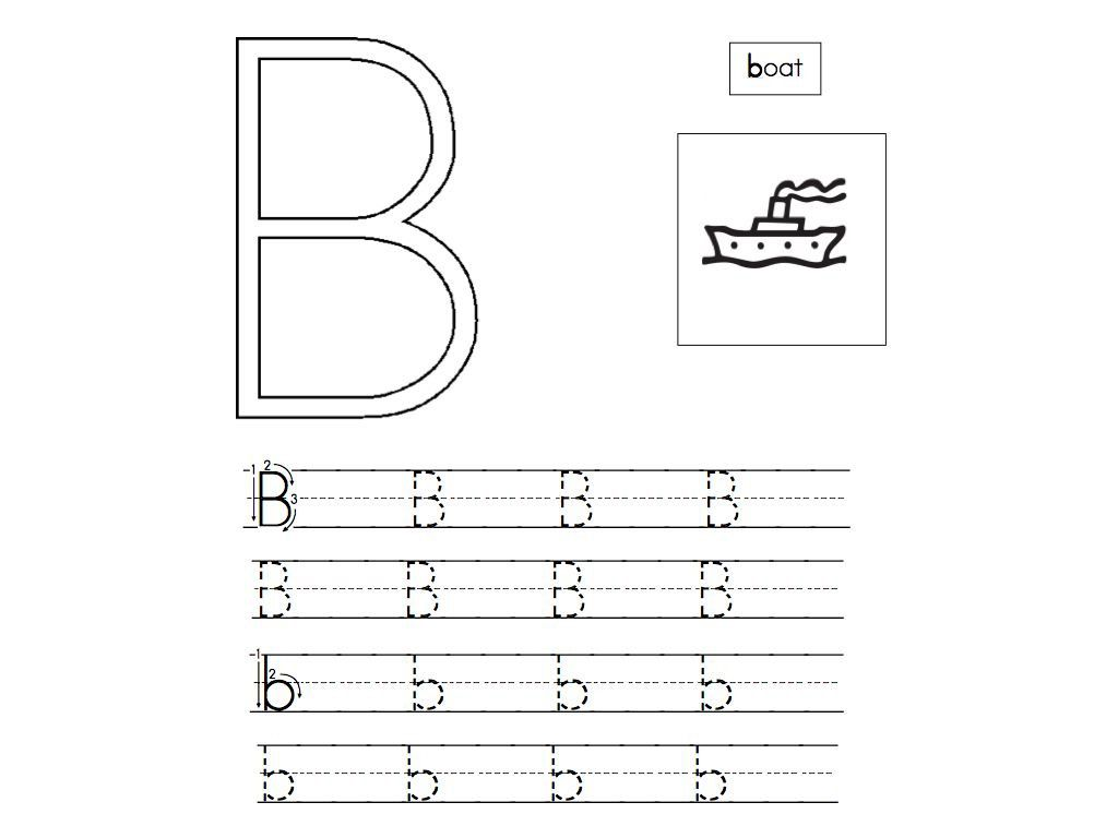 Abc Tracing Sheets For Preschool Kids Kiddo Shelter Alphabet And