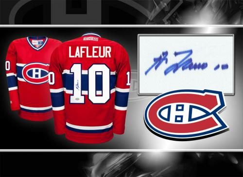 more photos 1360a 28eb4 Signed Guy Lafleur Jersey | Sports Collectibles in 2019 ...