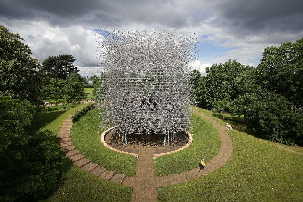 The Hive (United Kingdom Pavilion, Milan Expo 2015), Kew Gardens, Royal Botanic Gardens, London, England, United Kingdom - Wolfgang Buttress