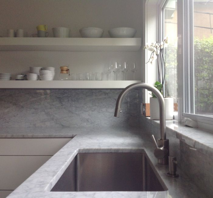 Grohe Concetto Kitchen Faucet Home Depot Trash Cans Dual Spray Pull Down In 2018 Counter Top Color And Style Looks Great With White To Match New Appliances Remodelista