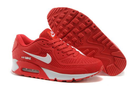 Nike Air Max 90 Nike Air Max 90 Men's Shoes Gym RedWhite