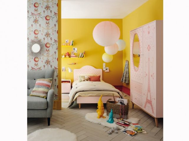 Mur jaune enfant fly | chambre | Pinterest | Bedrooms