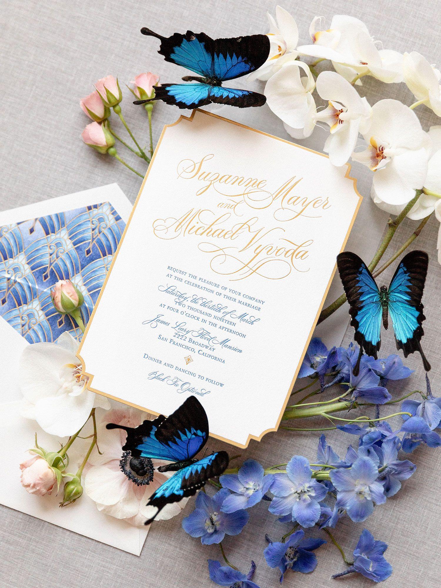 15+ Watercolor wedding invitations artist info