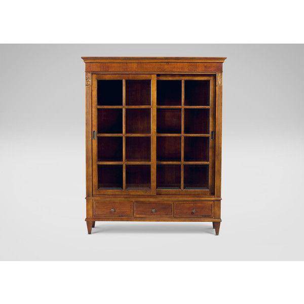 Ethan Allen Ashton Curio Cabinet  3 525 CAD    liked on Polyvore featuring  home. Ethan Allen Ashton Curio Cabinet  3 525 CAD    liked on Polyvore