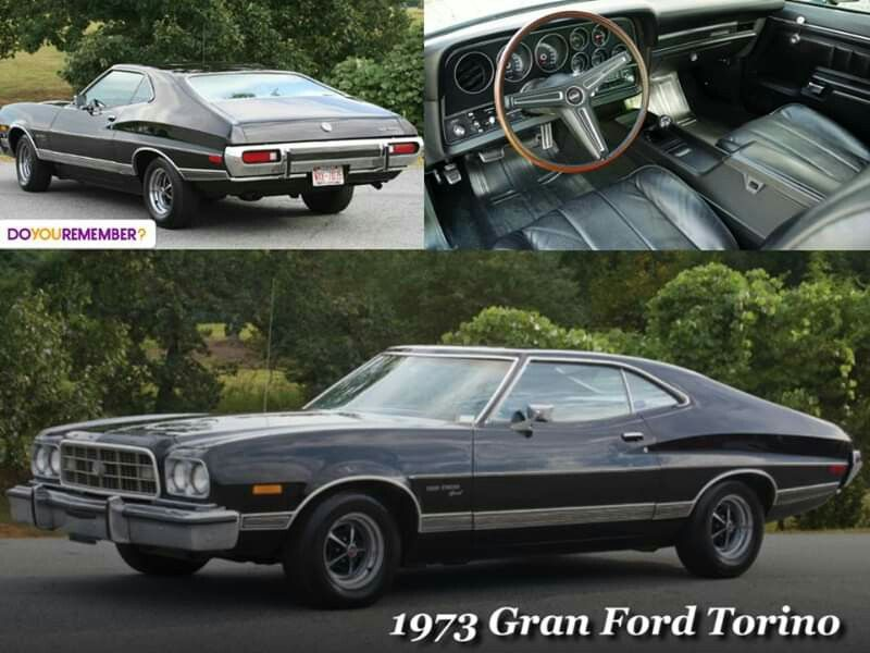 1973 Ford Gran Torino With Images Ford Classic Cars Ford