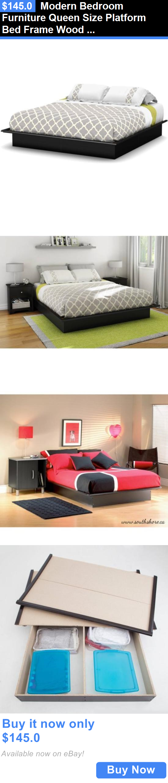 furniture Modern Bedroom Furniture Queen Size Platform Bed Frame