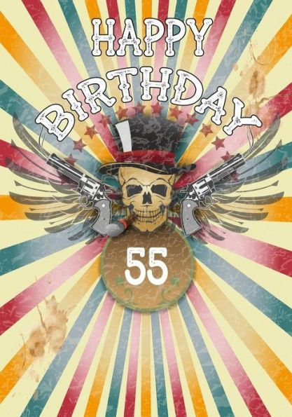 Happy Birthday 55 Gifts For Men Journal Notebook Year Old Journaling