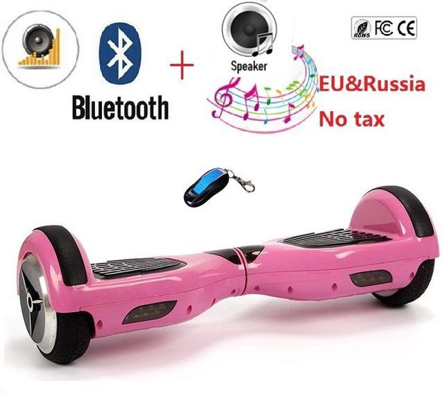 מוצר 6 5 Inch Electric Skateboard Hover Board Self Balancing