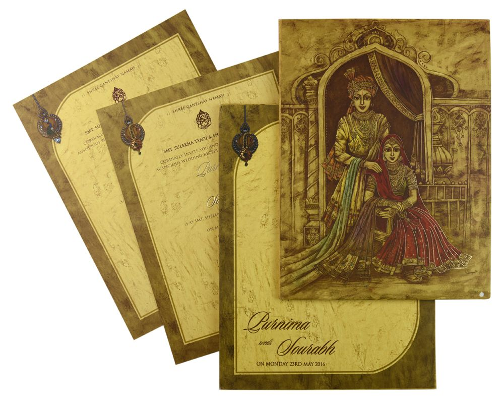 wedding card manufacturers in tamilnadu%0A IWRX    Multicolor card Color  Multicolor Offset Cards  Designer Multifaith  Invitations  Indian Wedding Invitations