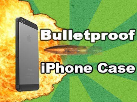 Bulletproof iPhone case STOPS 50 cal bullet! Tech Assassin - RatedRR