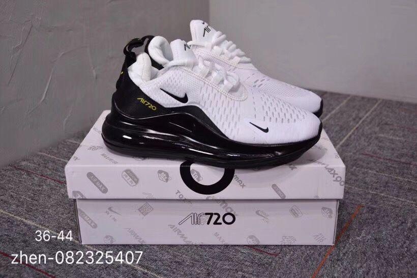 mens winter sneakers nike air max 720/270 black gold
