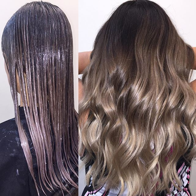 The W.O.W. technique  aka my wet on wet colormelting technique. This is the process I use to achieve a seamless blend trust the process