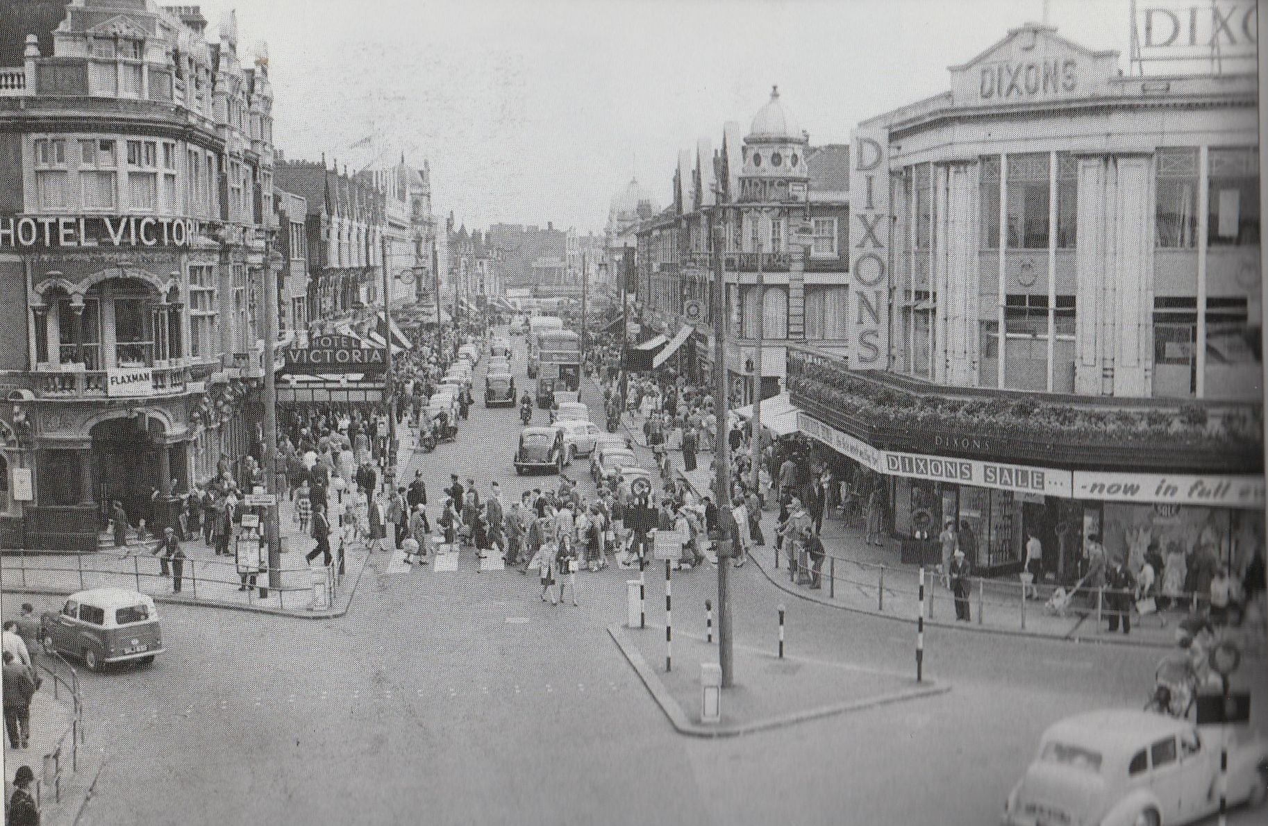 Hotel Victoria And Dixons C1960 Southend On Sea Southend Essex England