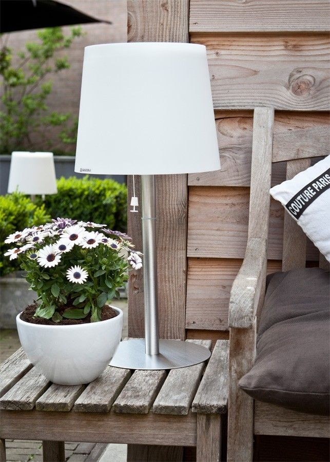 Exceptional Einfache Dekoration Und Mobel Landhausstil Das Wohnkonzept Bonte #4: Outdoor Solar-Tischleuchte Monroe No. 2 | Garden Inspiration | Pinterest |  Terrasse, Balkon Und Rund Ums Haus