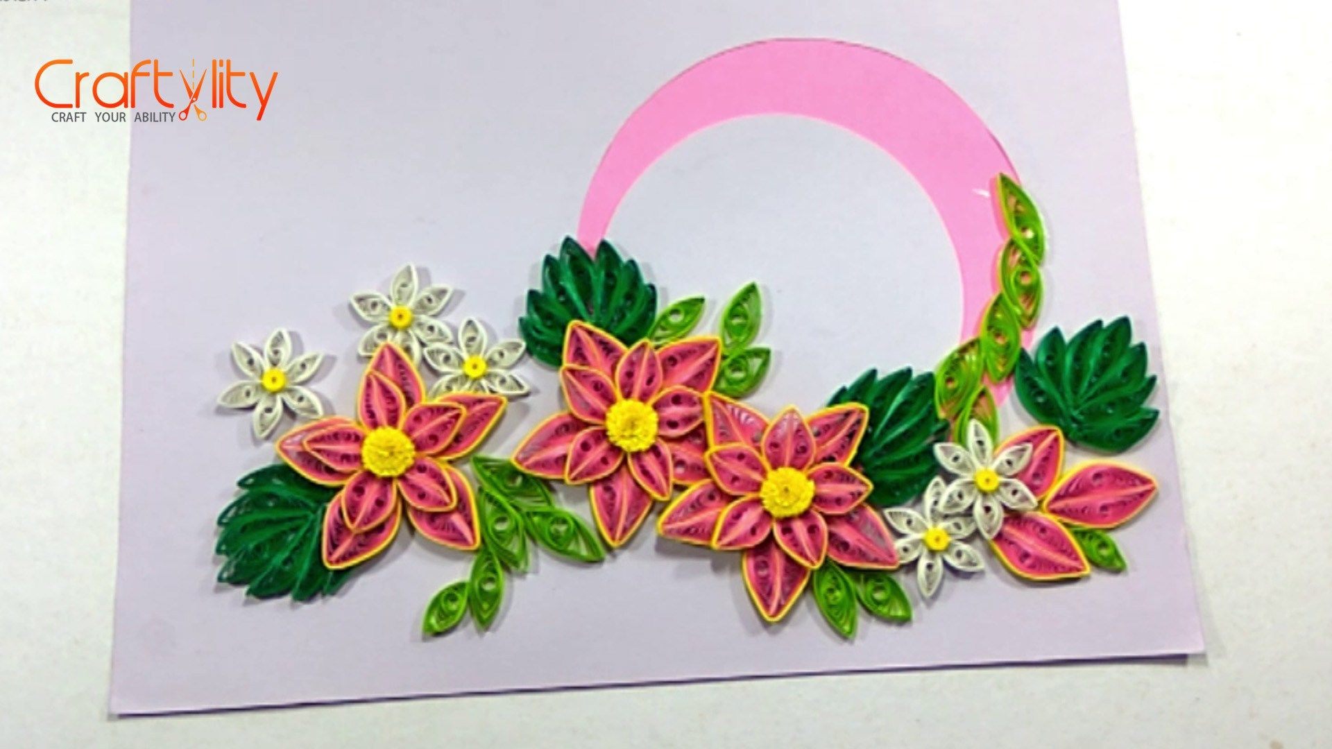 This Post Covers Different Type Of Quilling Flower Which Look
