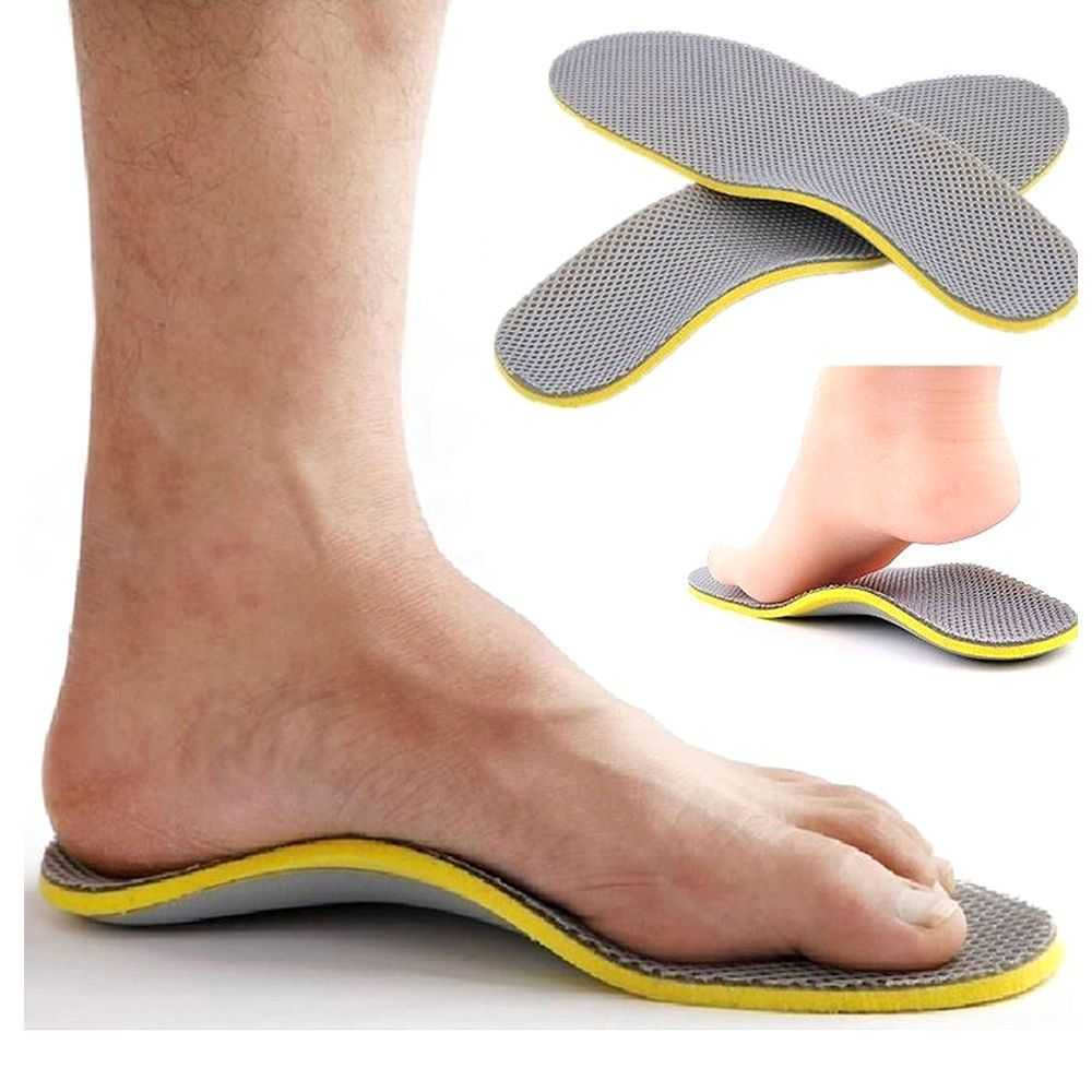 1 Pair Orthotic Flat Feet Foot High Arch Heel Support Shoe Inserts Insoles Pads