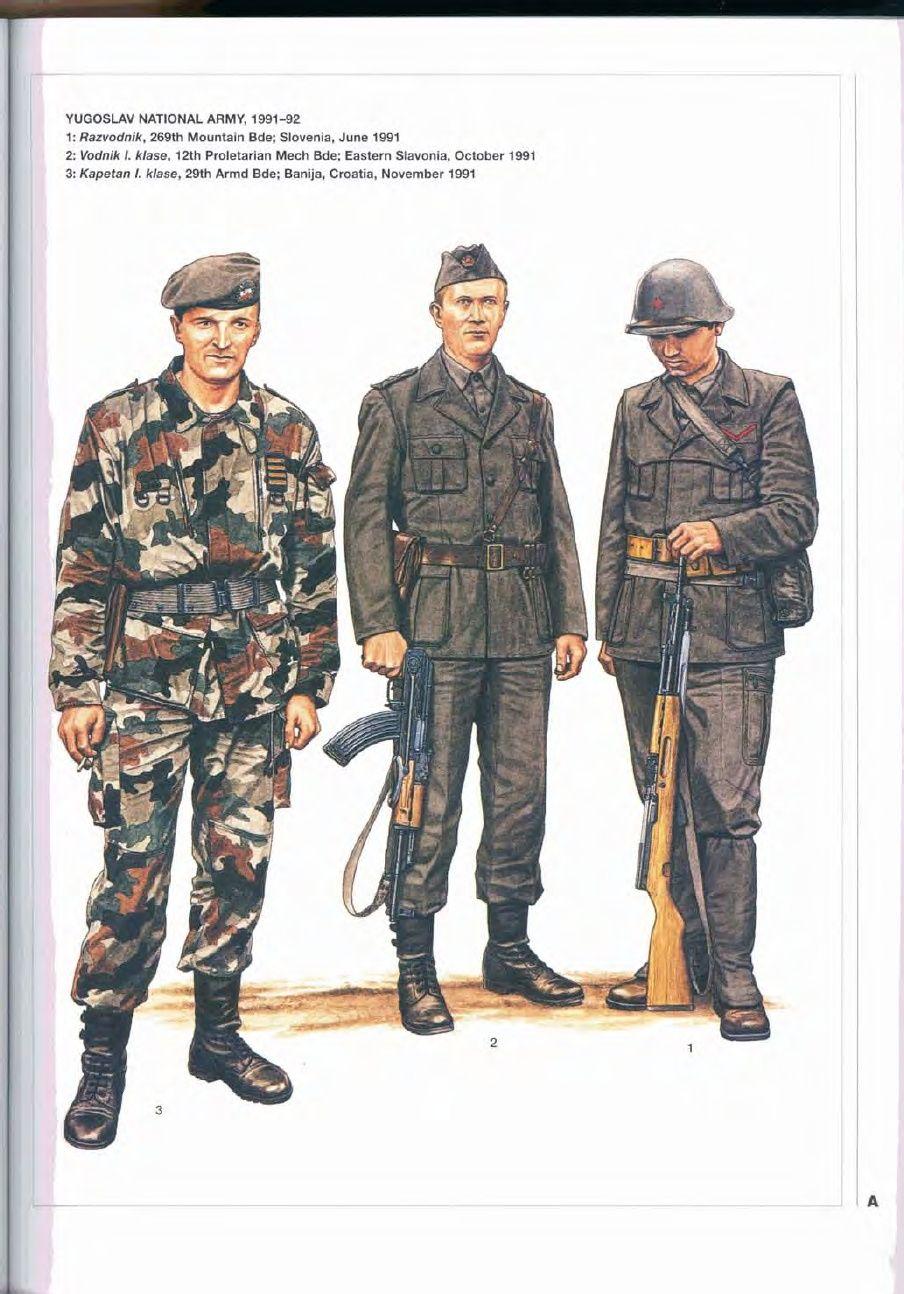 Elite 138 The Yugoslav Wars 1 Slovenia Croatia 1991 95 Cold War Military Bosnian War Military History