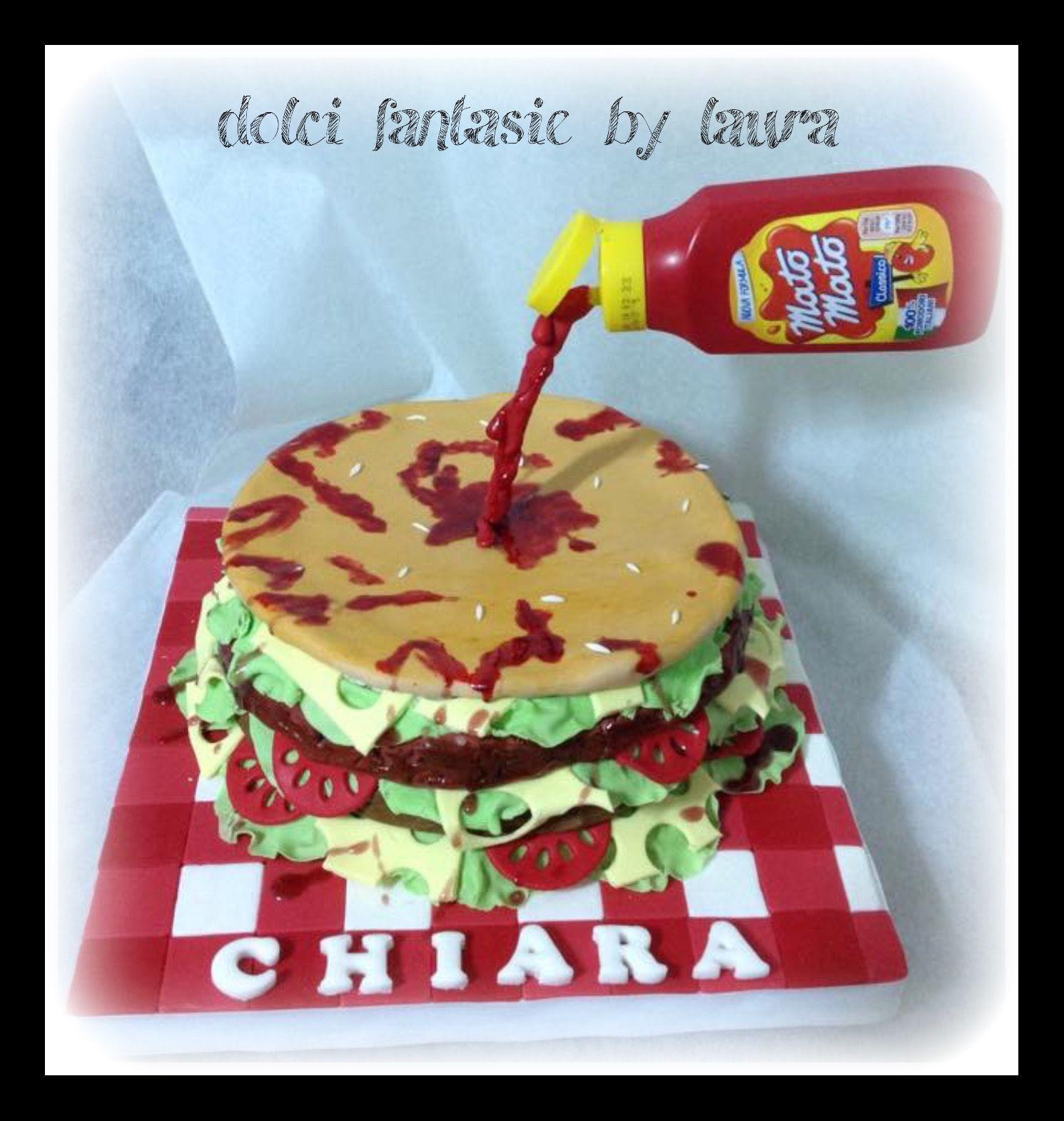 Panburger cake