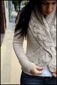 335d767d46 blusa de trico com trança receita - Pesquisa Google