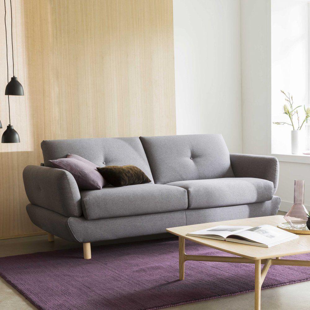 20 Canapes Gris Pour Un Indemodable Au Salon Canape Convertible Canape Convertible Design Canape