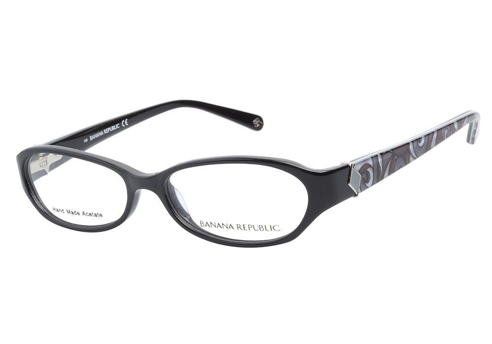 Banana Republic Maddie EN7 Black Gray Swirl eyeglasses. Get low ...
